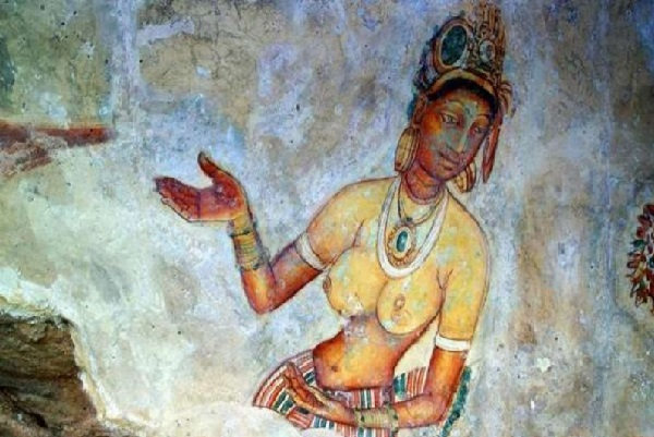 Sigiriya Paintings Single Women